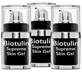 BIOTULIN [3-PACK] - Supreme Skin Gel, Facial Lotion, Reduces Wrinkles, Skin Care Product, Anti Aging Treatment - 15 ml Each, Made In Germany