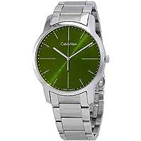 Calvin Klein City Green Dial Men's Watch