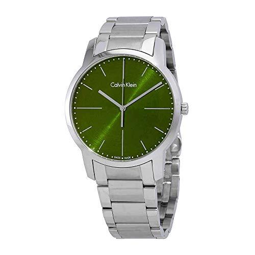 Calvin Klein City K2G2G14L Reloj de Pulsera para Hombres