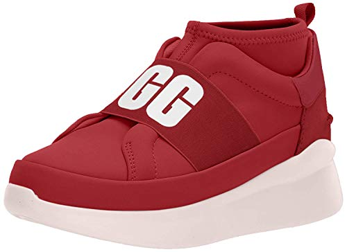 UGG Damen Neutra Sneaker Schuh, Ribbon Red, 41 EU