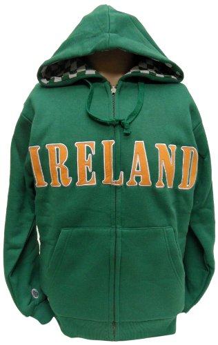 Donegal Bay Irland-Sweatshirt, wendbar, Jungen, grün, X-Large