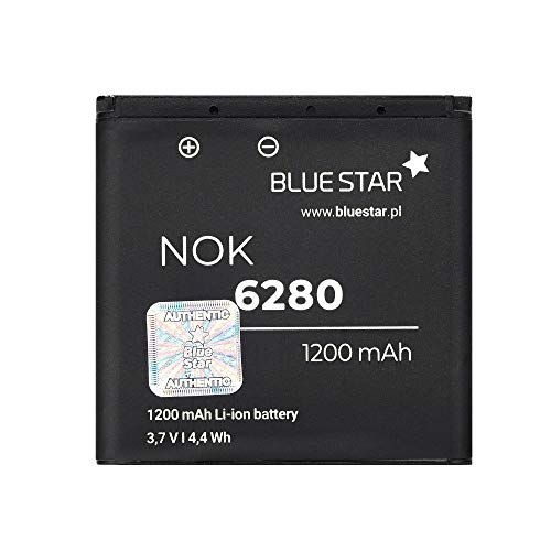 AKKU NOKIA 6280/9300/6151/N73 1200m/Ah BLUE STAR PREMIUM