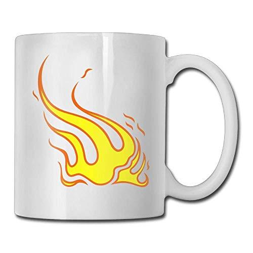 Feuer-Kaffeetasse 11 Unze-Mann-Büro-Geschenk-Tee-Schale Ein perfektes Geschenk für Ihre Familie und Freunde