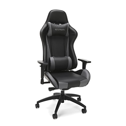 RESPAWN 105 Racing Style Gaming Chair, in Gray chair gaming gray