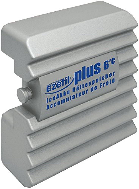 garantía de crédito EZetil Plus 6°C Acumulador de de de frío 700g, Color Plata  ordene ahora los precios más bajos
