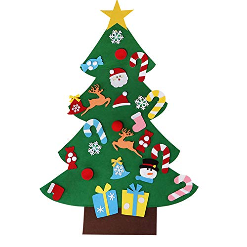 Majome DIY Christmas Tree, DIY Tree Wall Hanging Decoration for 2-7Children Kids About 70x95cm