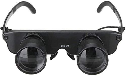 ZHCJH Telescopio binoculares HJTLK, binoculares de Pesca de Manos Libres, Gafas binoculares para Pescar, observar Aves, Viajes, contemplar Las Estrellas, conciertos, Deportes