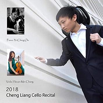 2018 Cheng Liang Cello Recital