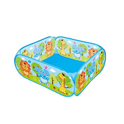 Piscina De Bolas Plegable, Divertida Piscina De Bolas Emergentes Casa De Juegos Grande para Niños Piscina De Bolas Marinas para Bebés Tienda De Juegos De Educación Temprana(Size:72 * 72 * 29CM)