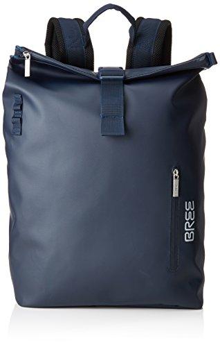 BREE Unisex-Erwachsene Pnch 713, Blue, Backpack M Rucksack, Blau), 15x34x42 cm