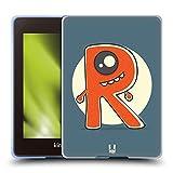 Head Case Designs R Borgne Monstre D'Alphabet Coque en Gel Doux Compatible avec Kindle Paperwhite 4...