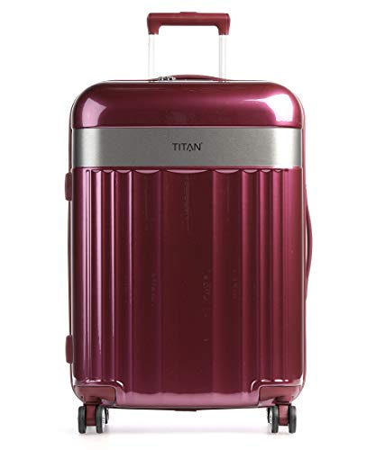 TITAN 4-Rad Koffer Größe M mit TSA...
