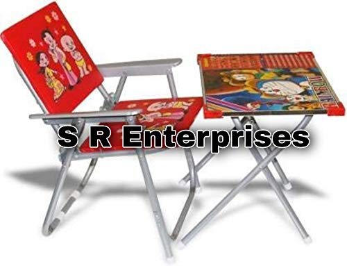 SR Product Kids Table Chair Set, 2-8Years (Design May Vary)