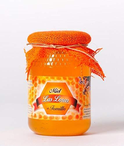 Pack de 12 tarros de cristal de miel de tomillo 500 g