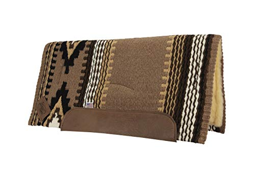 Impact Gel Cowtown Woven Saddle Pad