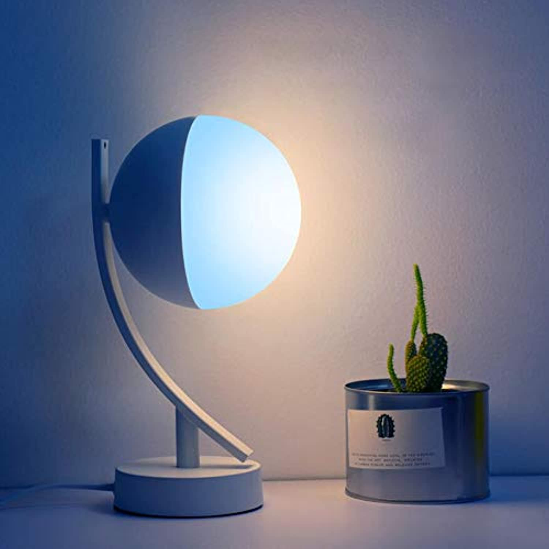 Kklak Tischleuchte, LED-Augenschutz Licht x Stufenloses Dimmen & intelligente Sprachsteuerung Lampe, Geeignet für Zuhause