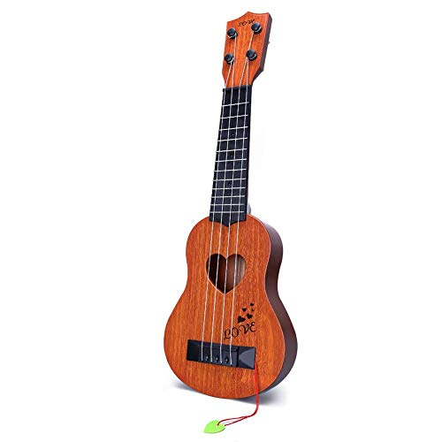 Kids Toy Classical Ukulele Guitar Musical Instrument, Brow