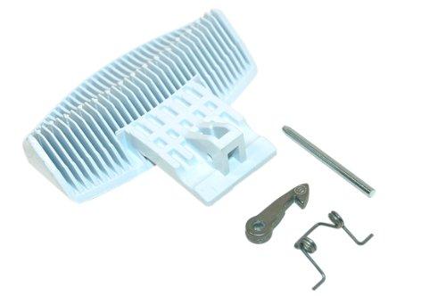 Indesit C00259035 - Tirador para puerta de lavadora, color blanco