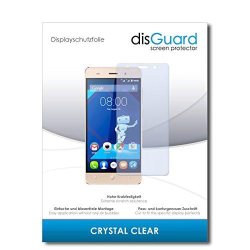 disGuard® Bildschirmschutzfolie [Crystal Clear] kompatibel mit Haier Leisure L56 [2 Stück] Kristallklar, Transparent, Unsichtbar, Extrem Kratzfest, Anti-Fingerabdruck - Panzerglas Folie, Schutzfolie