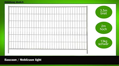 Bauzaun/Mobilzaun light