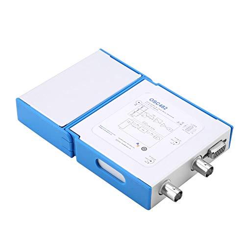 Oszilloskop, OSC482 PC Virtual Digital Handheld-Oszilloskop 2-Kanal-Bandbreite 20 MHz Abtastdaten 50 MBit/s