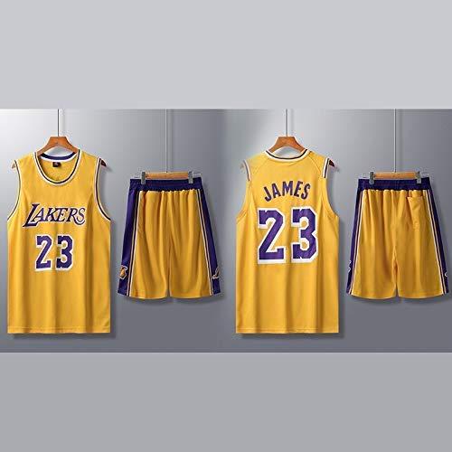 ZEH Traje de Ropa de Baloncesto para Hombre de la NBA Servicios de Entrenamiento Personalizados con un número  Kobe Bryant Jersey (Color: A19, Tamaño: 5XL) FACAI