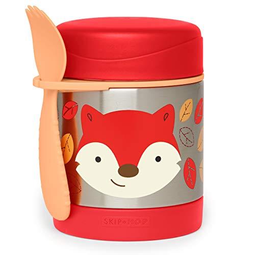 Skip Hop - Recipiente para alimentos (acero inoxidable) multicolor Fox
