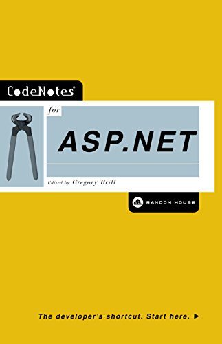 CodeNotes for ASP.NET (English Edition)