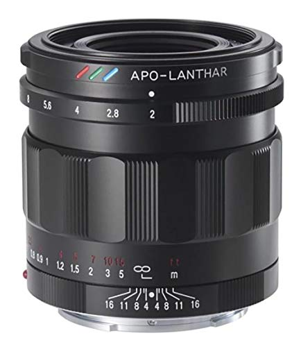 Voigtlander Standard APO-LANTHAR 50 mm F2.0 Objektiv für Sony E-Mount