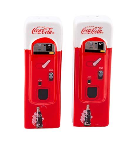 Sunbelt Gifts Ko Ceramic Salt & Pepper Vending Machine, Multicolor, One Size