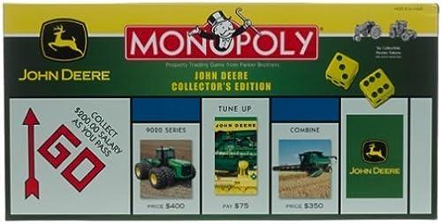 tiempo libre John John John Deere Monopoly by MONOPOLY (English Manual)  Envio gratis en todas las ordenes