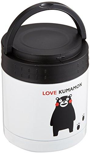 リビング 弁当箱 フード マグ くまモン スープ リゾット 果物 300ml 真空断熱 保温 保冷 持ち手付き