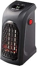 AJH Calentador portátil, Mini Calentador de Enchufe, Temporizador de Control de Temperatura, protección contra sobrecalentamiento, Calentador de Ventilador de Enchufe, Dormitorio p