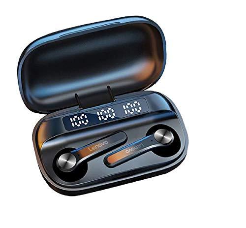Original Lenovo QT81 Kabellose Kopfhörer mit Touch-Steuerung, IPX4, 1200 mAh, hohe Kapazität, Akku 30 h, Geräuschunterdrückung, Bluetooth 5.1