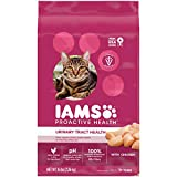 IAMS PROACTIVE HEALTH Adult Urinary Tract Health Dry Cat Food with Chicken Cat Kibble, 16 lb. Bag