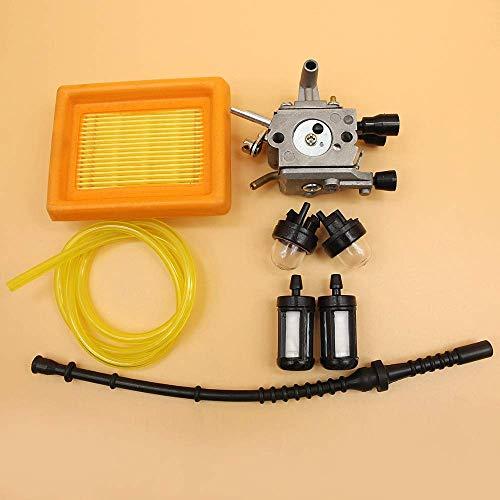 BLTR Carburador Primer Bulbo del Filtro de Aire Kit línea de Combustible for STIHL RECORTADOR FS120 FS200 FS020 FS202 FS250 FS300 FS350 TS200 desbrozadora De Confianza