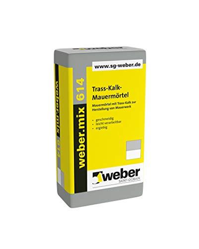 Weber.mix 614 Trass-Kalk-Mauermörtel Mauermörtel Putzmörtel