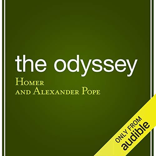 Page de couverture de The Odyssey