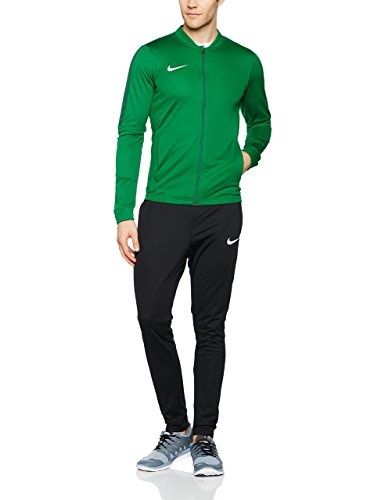 Nike Academy16 Knt Tracksuit 2, Chándal Para Hombre, Verde / Negro / Blanco (Pine Green/Black/Gorge Green/White), M