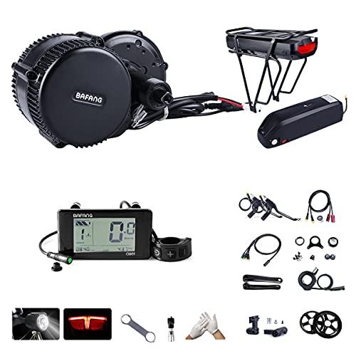 BAFANG BBS02B 48V 750W 100MM Ebike Motor with C961 LCD Display 8fun Mid Drive Electric Bike Conversion Kit