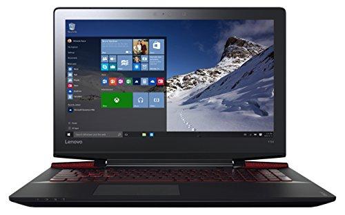 Lenovo IdeaPad Y700–17isk Laptop Gamer Schwarz (Intel Core i5, GB RAM, 1TB + 128GB, NVIDIA GeForce GTX 960M, Windows 10) Noir métalisé 15''