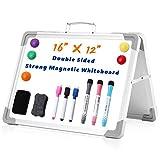 Tabla de borrado en seco Easy Carry de doble cara personal borrador en seco pizarra magnética pizarra blanca magnética para oficina escuela en casa