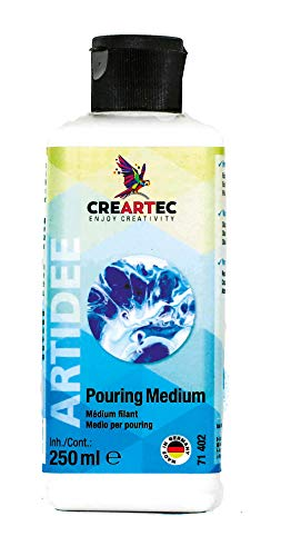 Creartec – Juego de pintura fluida para técnica de vertido, para crear arte fluido. Fabricado en Alemania