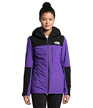 The North Face Women s Thermoball Eco Snow Triclimate Jacket Peak Purple/TNF Black M