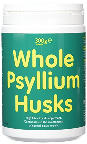 Whole Psyllium Husks - High Fibre Food Supplement (300g Powder)