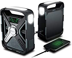 A amazon link to a emergency hand crank flashlight and radio