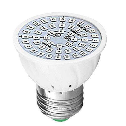 MICHAELA BLAKE LED-Glühlampe für Innenanlagen wachsen LED 48-LED-Innen Kunststoff 220V Pflanzenwachstum Licht-E27