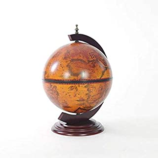 Old Modern Handicrafts NG019 Red Globe 13 inches with Chess Holder