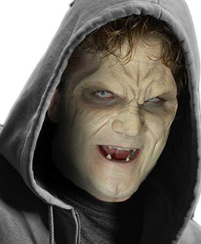 Maskworld Fertig geschminkte Vampir-Maske aus Latex