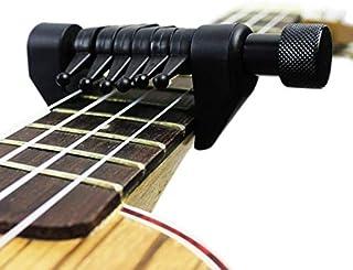 JUSTMOO オリジナルスパイダーカポポータブル代替チューニングギターカポは、様々なチューニング変更をサポート (Color : Black)